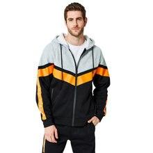 Aipeace модные брендовые мужские толстовки с капюшоном топ соединением