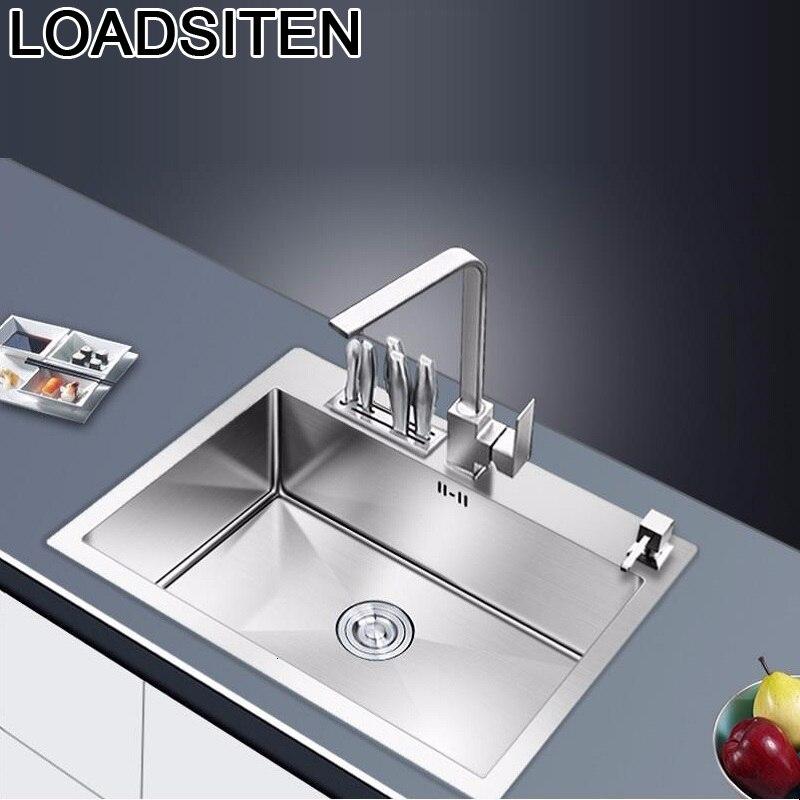 Evier Waschbecken Portable Keuken Gootsteen Inox Lavello Cucina Kitchen Pia Cozinha De Cocina Fregadero Lavabo Dishwash Sink
