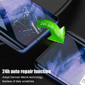 Image 4 - Original Volle Abdeckung Hydrogel Film Für OnePLus 5T 6 T 7 7T 8 Pro keine Glas Screen Protector für OnePLus 5 6 T Weichen Schutzhülle Film