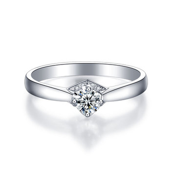 1 Carat 18k Gold And White Gold Diamond Ring Authentic Platinum Rose Gold Gold Wedding Marriage Couple