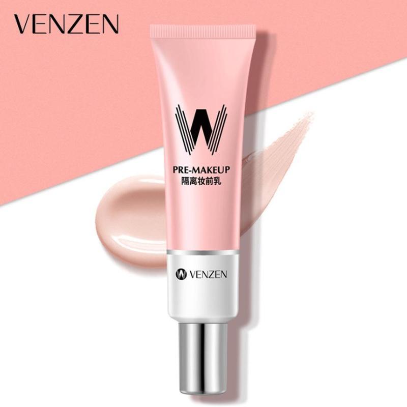 VENZEN W Primer 30ml contracción poro Primer Base suave cara brillante maquillaje piel Invisible corrector de poros Korea Cosmetic