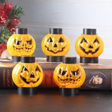 Halloween LED Pumpkin Night Light Children Birthday Gift Christmas Desk Party Decoration