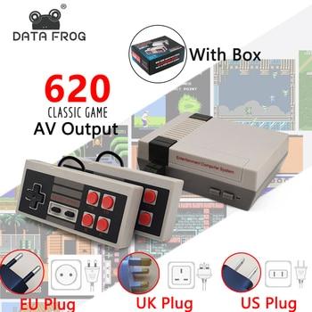 Video Game Console Mini TV Output Handheld AV 8Bit Retro Gaming Player Built-in 621/620 Games Gift Children Adult EU/AU/US Plug 2