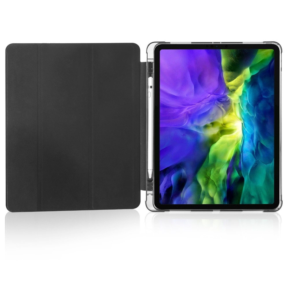 iPad Holder For Pro 2020 12 Cover Pencil 9 Case Apple Shell TPU for 2018 iPad with Soft