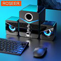 2021 New USB Wired Fashion Combination Speaker For Computer Speakers Bass Stereo Music Player Subwoofer Sound Box For PC Phones