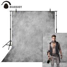 Allenjoy eski usta gri zemin düz renk Grunge portre düğün doğum günü bebek duş fotoğrafçılık fotoğraf stüdyosu arka plan
