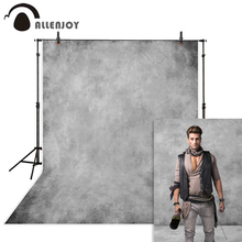Allenjoy グレー背景無地肖像食品結婚式誕生日写真写真スタジオの背景 photophone photozone