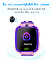 Q12 Children's Smart Phone Watch 1.44 Inch Waterproof Voice Chat LBS Track Electronic Watch For Boys Girls Kids Phone Watch 2