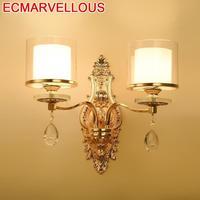 Vanity Aplique De Pared Wandlampen Arandela Aplik Lamba Crystal LED Bedroom Light Applique Murale Wandlamp Luminaire Wall Lamp|Wall Lamps|   -