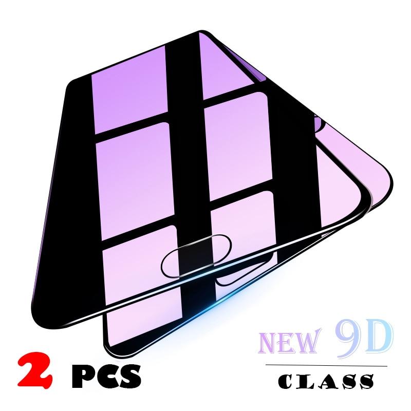 Закаленное стекло 9D для Huawei P30 P20 Pro Lite, пленка для защиты экрана Huawei Mate 30, 20 Pro, Honor 10 Lite, 10i, 10, 2 шт.