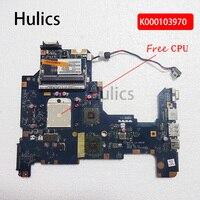 Hulics Original K000103970 motherboard for Toshiba Satellite L670D L675D NALAE U01 LA 6053P main board