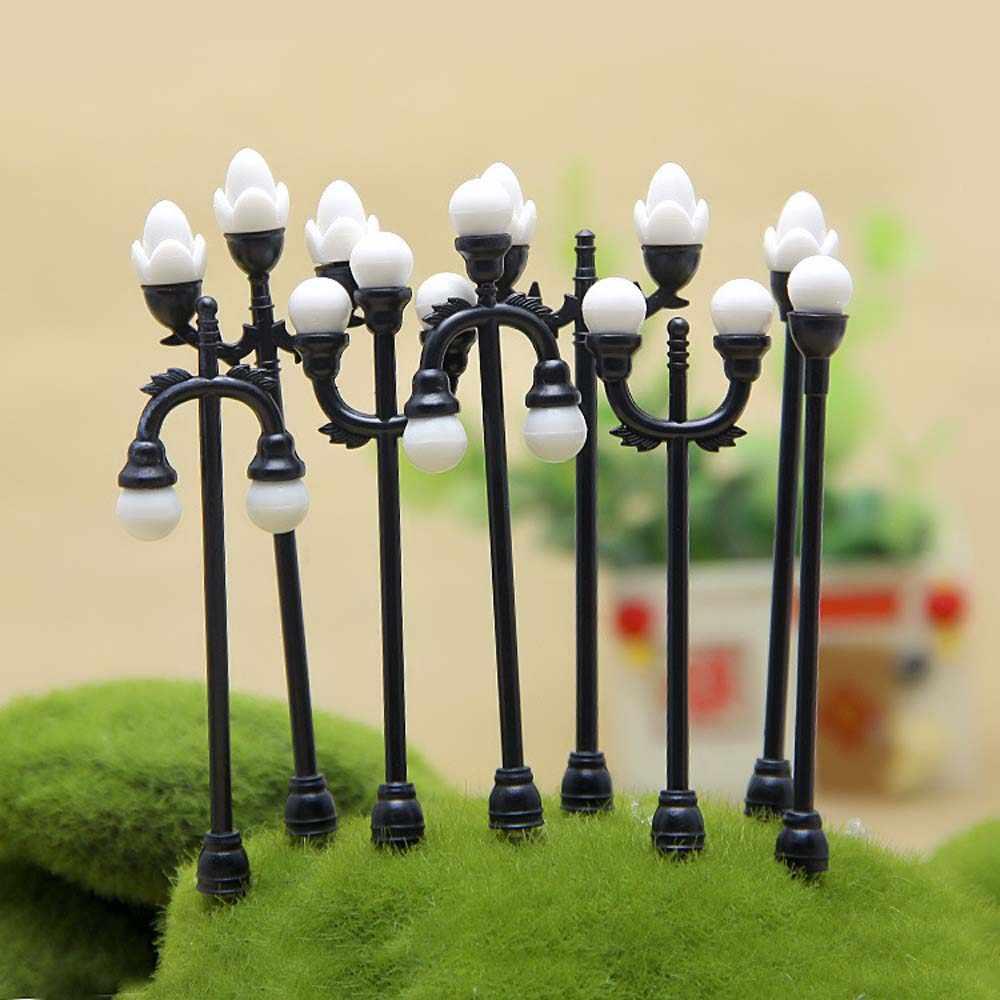 Artesanato do vintage diy lâmpada em miniatura jardim criativo casa decoração mini artificial micro paisagismo para acessórios artesanais