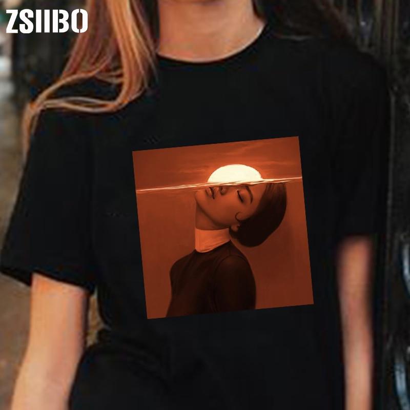 Women Shirts Tops Print Clothes Gothic Tshirt Female Dropshipping Vintage Vegan Korean Clothing Harajuku Female T-shirt Camisas