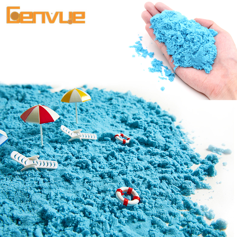 Magic Play Sand Playdough Lizun Soft Color Sand Toys Modelling Clay Air Dry Putty Charms For Slime Fluffy Toy For Children