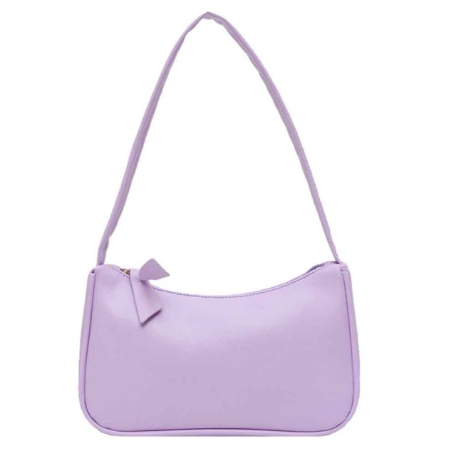 Handle Bag Women Retro Handbag PU Leather Shoulder Totes Underarm Vintage Top Handle Bag Female Small Subaxillary Bags Clutch 3