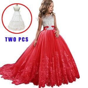 Элегантное платье принцессы для девочек от 3 до 14 лет; Свадебные платья подружки невесты для девочек; Вечерние платья на День рождения; Детск...