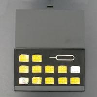portable aluminum Black Case Memory SIM card Storage Box Universal Protector Holder Aluminum Portable package Storage box for iPhone 11 Samsung (1)