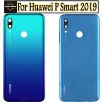 Funda trasera Original para Huawei P Smart 2019, cubierta de batería, carcasa de puerta, cristal trasero para Huawei p smart 2019