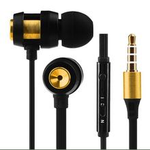 3.5 In-ear Universal Headphones with Microphone Wire Control Headset Effective Anti-sweat and Scratch for Phone Walkman Tablet(China)