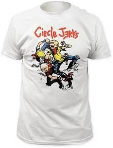 CIRCLE JERKS - Thrashers - T Shirt S-M-L-XL-2XL Brand New Official t Shirt(China)