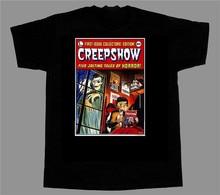 Creepshow - Movie T-Shirt George Romero Stephen King Zombies Horror Sportswear Tee Shirt