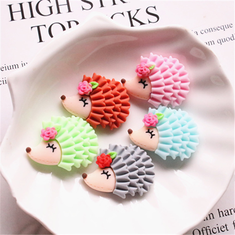 Boxi 10pcs Slimes Additives Cute Animal Charms New Kawaii DIY Kit Filler Decor For Fluffy Cloud Clear Crunchy Slime Clay Toy