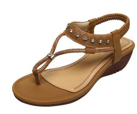 YEELOCA 2020 Summer Shoes Woman Sandals Flat Platform High Heel Sandalias Sandals With Platform XR001