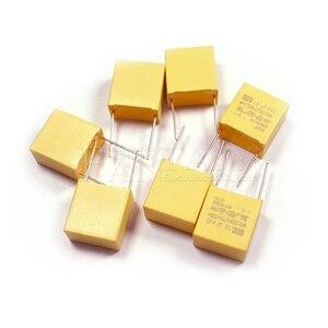 Image 3 - 10 Stuks 1Uf Condensator X2 Condensator 275VAC Pitch 15Mm X2 Polypropyleen Film Condensator 1Uf