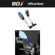 BDJ Motorbike Accessories Side Mirrors Universal Motor Rearview Blind Sport