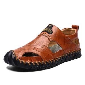Genuine Leather Luxury Men Sho
