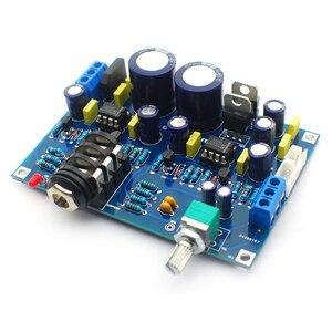 Image 3 - UNISIAN סולו אוזניות מגבר לוח כפול Ne5532 op amp Hifi צליל באיכות אודיו אוזניות מגבר אוזניות