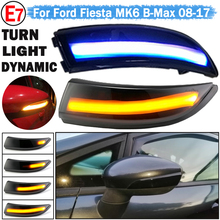 For Ford Fiesta Mk7 2008 2017 for Fiesta B Max B232 Dynamic Turn Signal Light LED Side Rearview Mirror Sequential Indicator