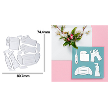 Drinking Utensils Wine Glass Bottle Barrel Metal Cutting Dies Stencil For Scrapbooking Embossing DIY Paper Card album Handcraft drinking utensils wine glass bottle barrel metal cutting dies scrapbooking album paper diy cards crafts embossing dies new 2020