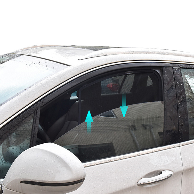 4pcs Car Side Window Sun Shade Ray Blocking Mesh Visor For BMW X3 2018-2019