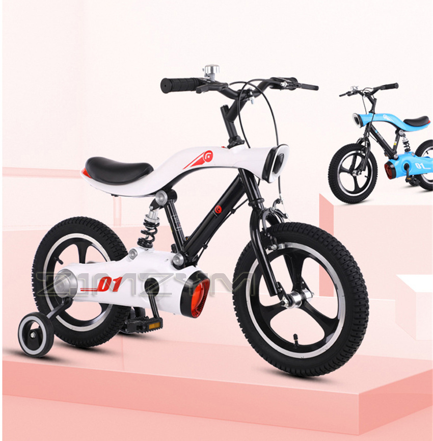 2021 New Children's Bicycles 12 Inch 14 Inch 16 Inch 3-6-8 Years Old Boys And Girls Children's Cars Kids Bike Gifts For Child