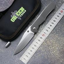 Green Thorn lochsa folding knife TC21 titanium handle S90V blade outdoor camping hunting tactics pocket kitchen knives EDC tools