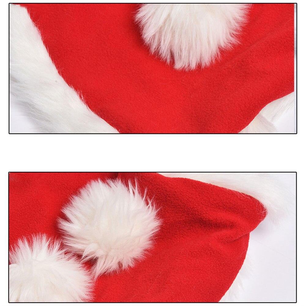 Pet Dog Christmas Clothes Winter Soft Warm Christmas Coat Costume Pet Cat Clothing Jacket Coat Pets Costume