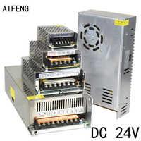 AIFENG DC 24V Switching Power Supply 1A 2A 3A 5A 15A 25A Power Supply Switching Power AC 110V 220V To DC 24V For Led Strip Light