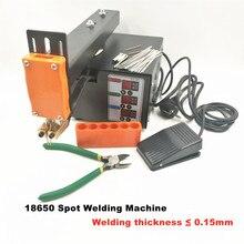 18650 Battery Spot Welder 3KW Spot Welding Machine Lithium Batteries Pack Nickel Strip Welding Pulse Welder Thickness 0.15mm