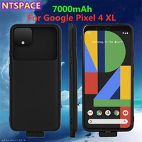 Extended Phone Battery Power Case For Google Pixel 4 XL Magnetic Backup Battery Charger Cover For Google Pixel 4XL Power Bank Co|Battery Charger Cases| |  -