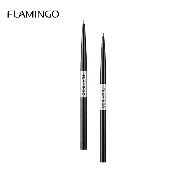 Flamingo Black Fine Professional Eyebrow Pencil Waterproof Long-lasting Waterproof Not Easy to Discolor Eyebrow Brown Gift b1022 3