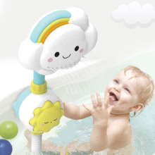 Creative Baby Shower Toy Interesting Children Playing Water Cloud Shower