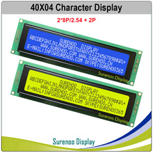 404 40X4 4004 Character LCD Module Display Screen LCM Yellow Green Blue with LED Backlight