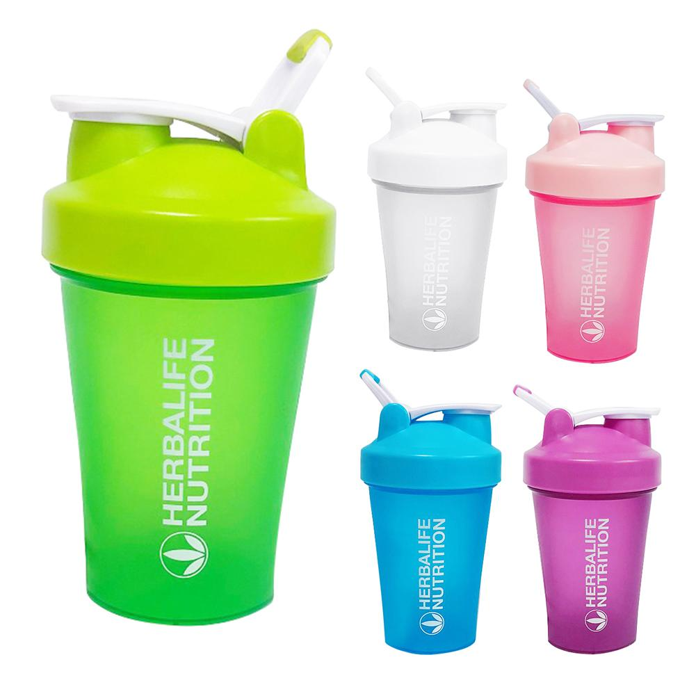 500ml Portable Sport Fitness Protein Nutrition Cup Coffee Water Drinking Mug Shaker Bottle image