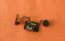 Verwendet Original USB Stecker Lade Board + MIC Mikrofon Für Blackview A60 Pro MTK6761 Quad Core Kostenloser versand