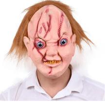 Маска для Хэллоуина Ужасы Страшно Смешные биохимические зомби