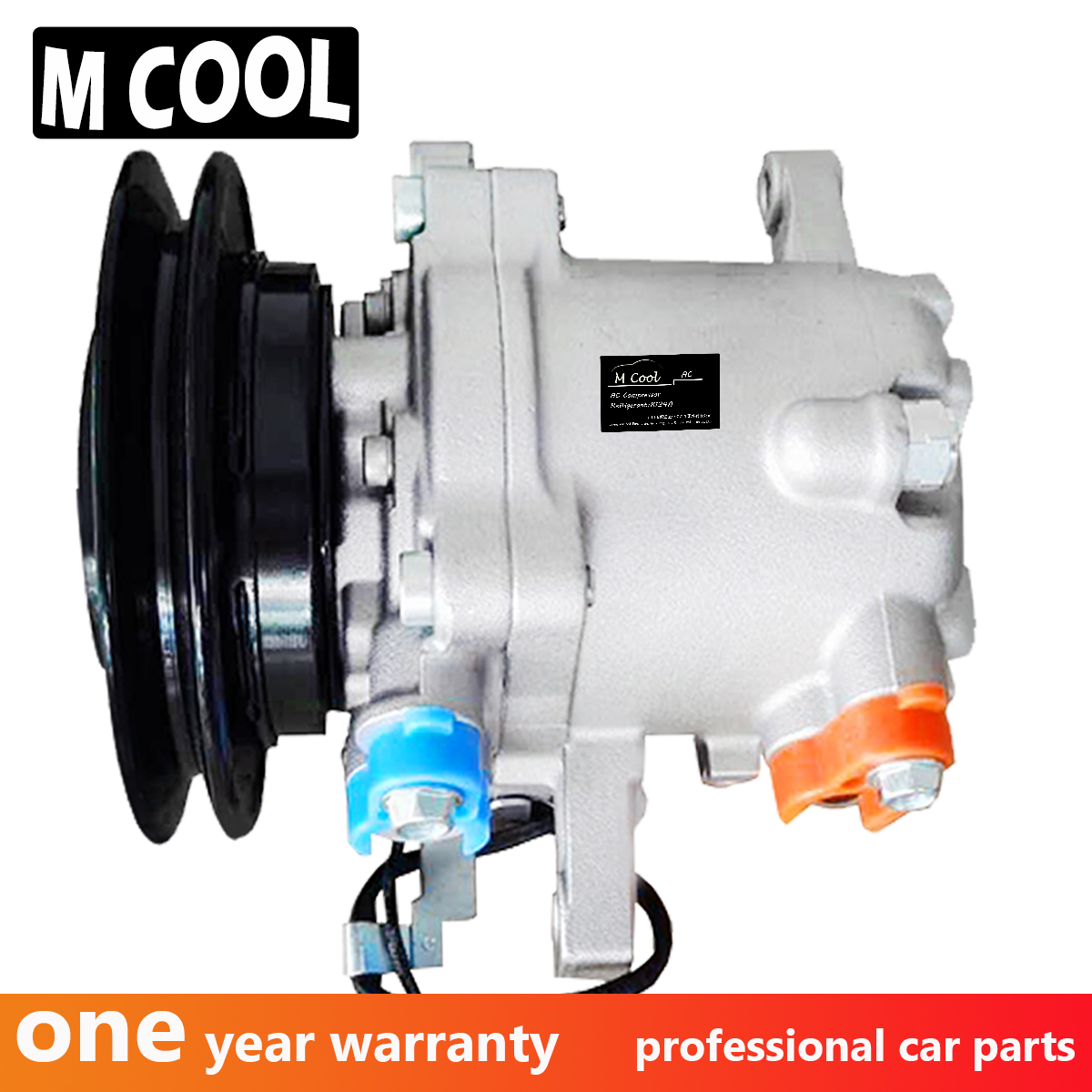 For Brand New SVO7E AC Compressor Kubota M108S M5040 M7040 M8540 Tractor SV07E 3C581 97590 3C581 50060 447220 6750 447200 9130 in Air conditioning Installation from Automobiles Motorcycles