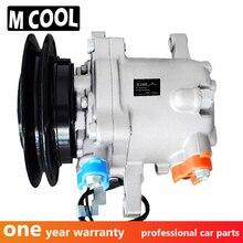 For Brand New SVO7E AC Compressor Kubota M108S M5040 M7040 M8540 Tractor SV07E 3C581-97590 3C581-50060 447220-6750 447200-9130