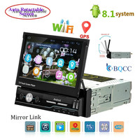 Autoradio 1 din Car Radio Android GPS 7 inch HD Touch Screen Car Multimedia Player Mirror Link Support Rear View Camera