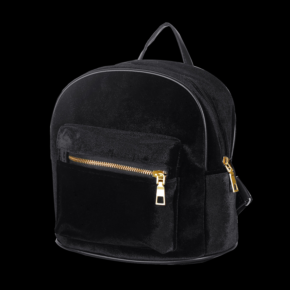 Sac à dos sacs d'école nouveau Design pour adolescents décontracté noir Trave sac à dos femmes